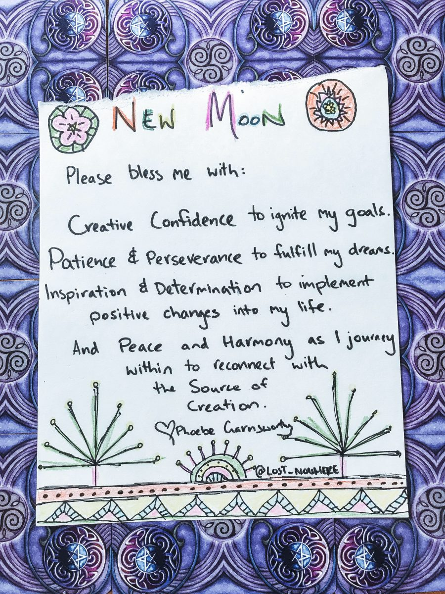 new moon rituals for manifestations