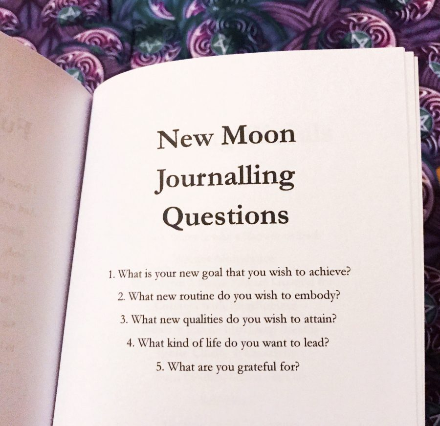 new moon journalling questions