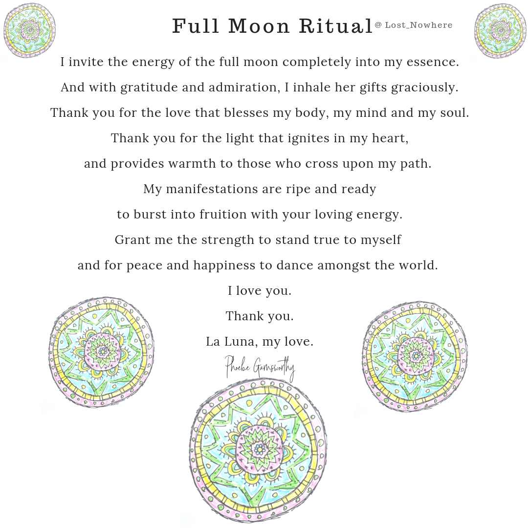 Full Moon Mantra