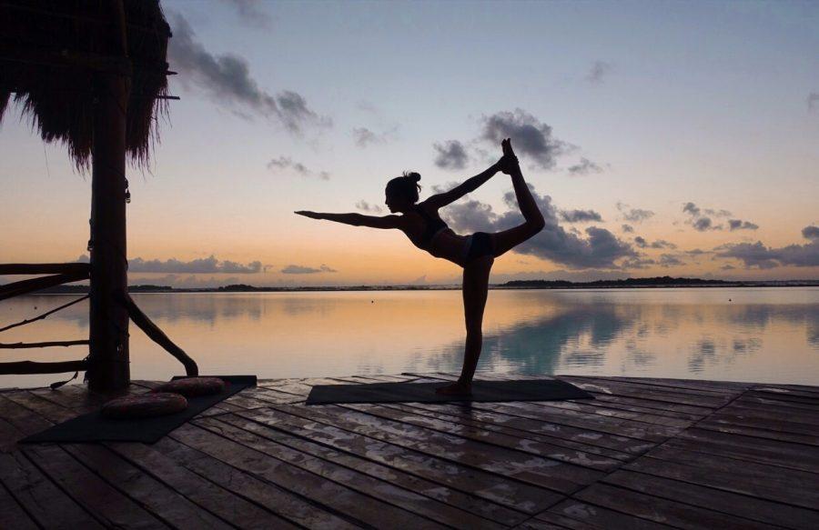 self love technique try yoga