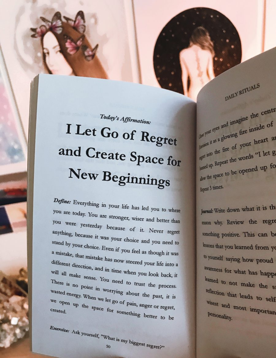 letting go chapter from daily rituals spiritual healing book by phoebe