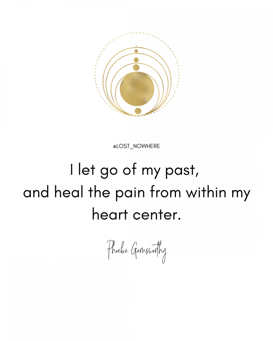 i let go of my past quote